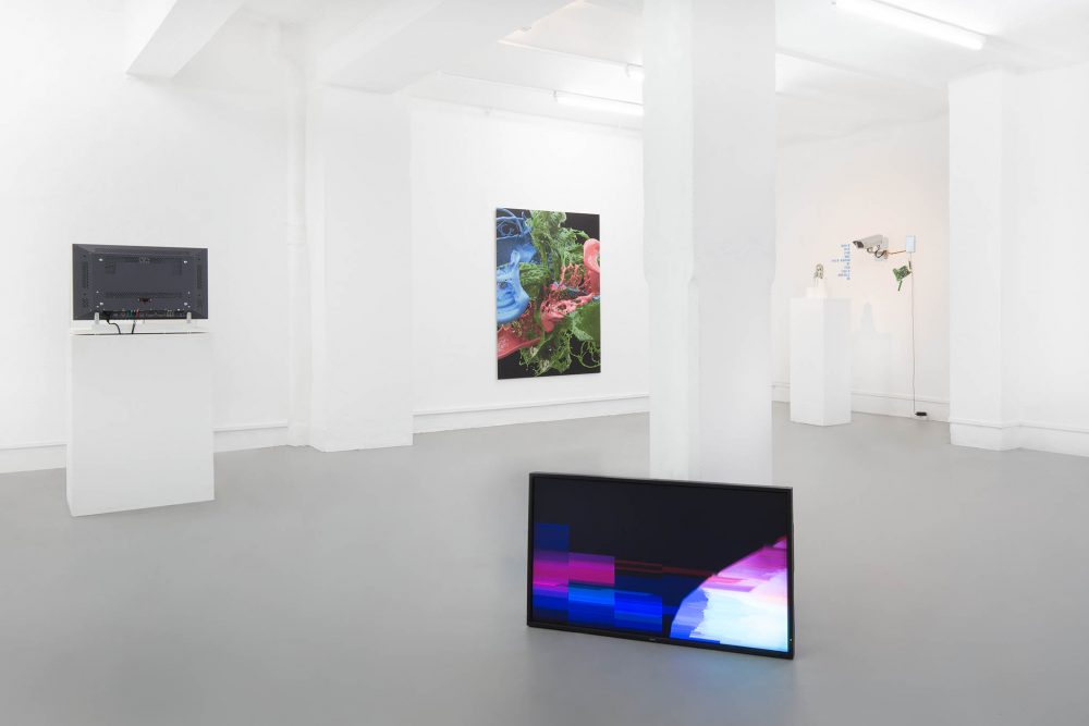 Installation view - UBERMORGEN - Banz und Bowinkel - Igor Štromajer - Galerie ampersand