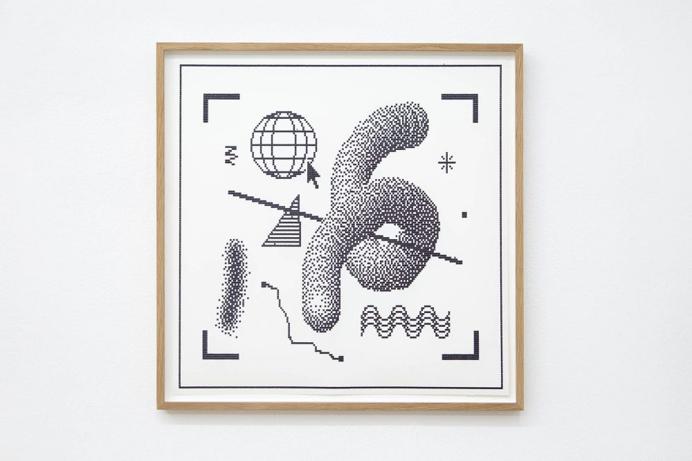 Arno Beck - Typewriter drawing