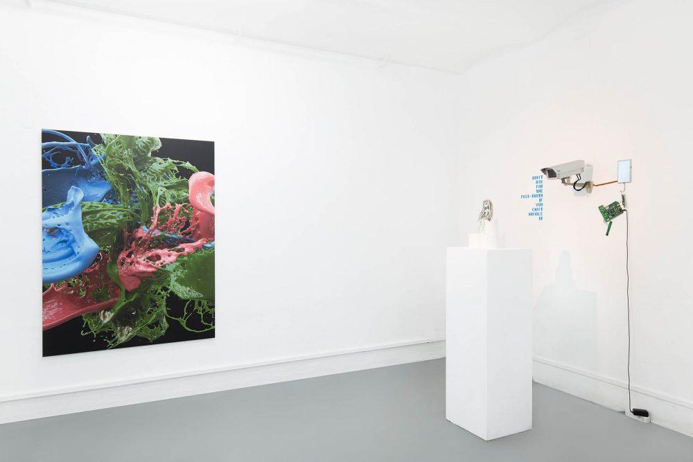 Installation view - Banz und Bowinkel - Igor Štromajer - Galerie ampersand