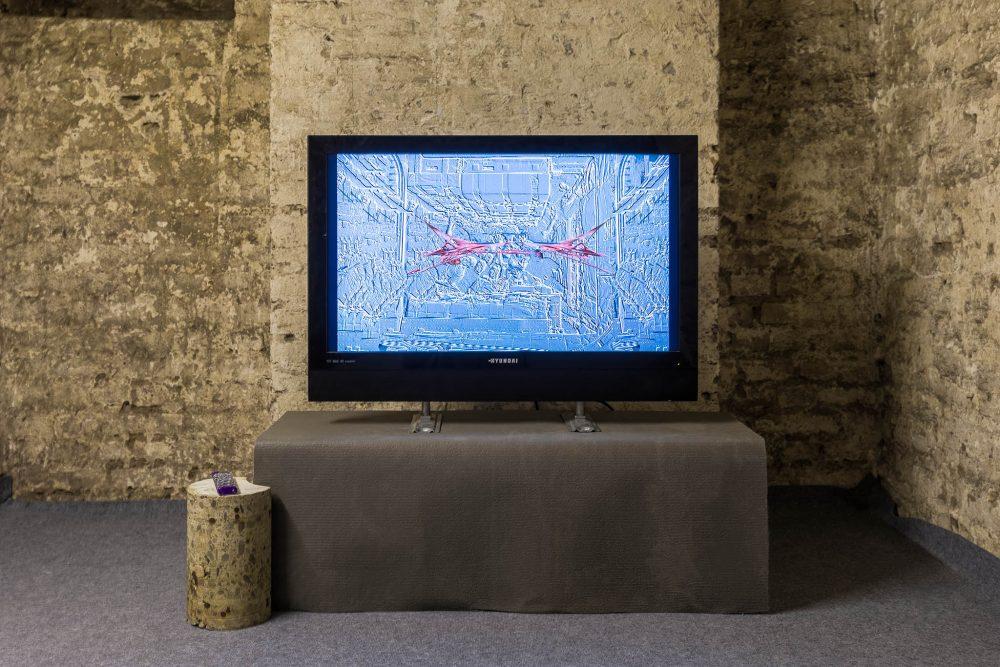 Timothy Shearer Philipp Höning Videoinstallation Galerie ampersand
