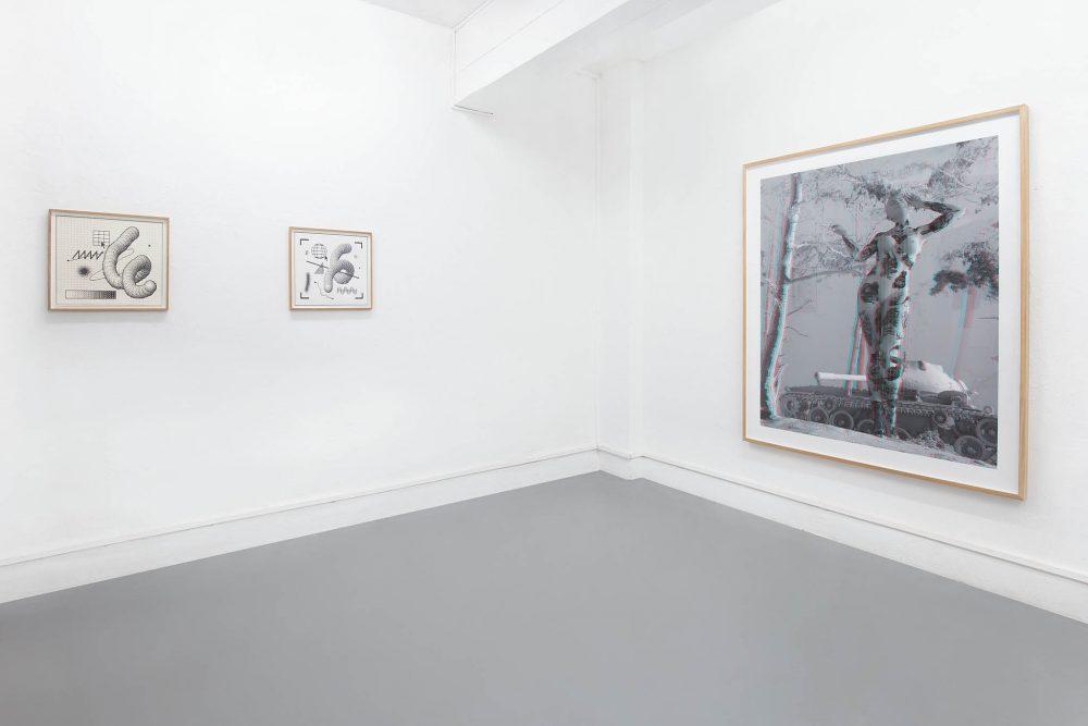 Tim Berresheim - Arno Beck - Digital Art - Installation view